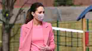 Duchess Kate visits school in London on March 11, 2021