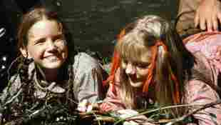 """Melissa Gilbert and Alison Arngrim in """"Our Little Farm"""""""