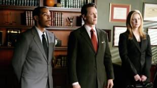 """Law & Order: SVU"": Ludacris and Steven Weber"