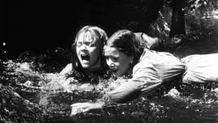 Alison Arngrim and Melissa Gilbert