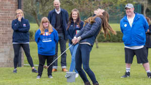Duchess Kate and Prince William Golf At New Outing After Prince Philip's Death