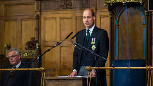 Prince William Recalls Learning Of Diana's Death While In Scotland