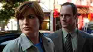 """Mariska Hargitay and Christopher Meloni in their roles """"Benson"""" and """"Stabler"""" for """"Law & Order: SVU"""""""