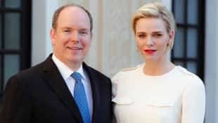 Prince Albert and Princess Charlène