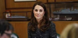 Duchess Kate Gets Emotional Talking Hold Still Project