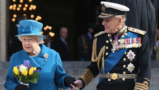 Queen Elisabeth and Prince Philip