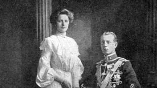 Princess Alice of Battenberg and Prince Andrew