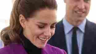 Duchess Kate with spider giant Tarantula pictures photos Prince William snake Ireland farm visit 2021 royal family news