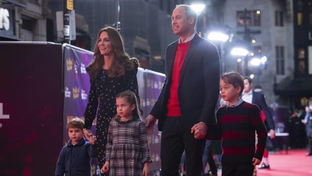 Prince William, Duchess Kate, Prince George, Princess Charlotte, Prince Louis