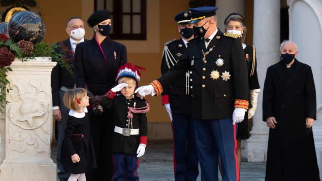 The Monegasque princely family