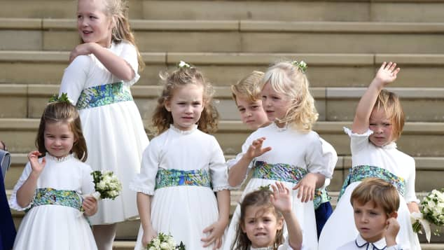 Maud Windsor and the other Royal children