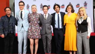 """The """"The Big Bang Theory"""" stars"""
