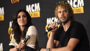 Daniela Ruah; Eric Christan Olsen; Daniela Ruah and Eric Christan Olsen; NCIS: L.A. Kensi and Deeks