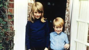 Lady Diana and Charles Spencer