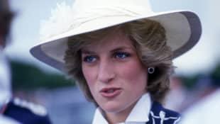 Lady Diana in New Zealand