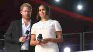 Prince Harry Duchess Meghan disagree Lilibet's baptism UK royal family US news 2021 daughter baby girl