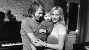 Agnetha Fältskog and Björn Ulvaeus