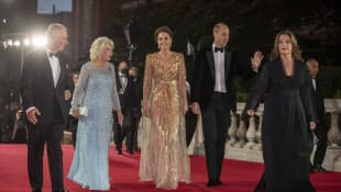Prince Charles, Duchess Camilla, Duchess Kate and Prince William