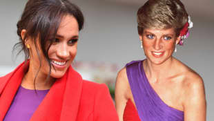 Duchess Meghan and Lady Diana