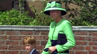 Prince Harry and Lady Diana