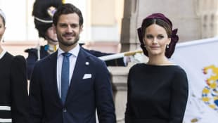Swedish Royals Share New Photos Of Baby Julian Meeting His Brothers
