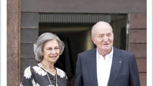 La Reina Sofía y el Rey Juan Carlos