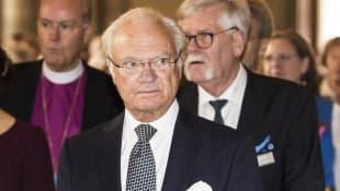 King Carl Gustaf of Sweden