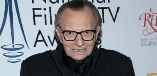 Larry King Hospitalized With COVID-19 coronavirus