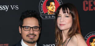 Michael Peña y Brie Shaffer