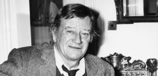 John Wayne in 1974