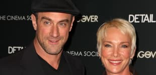 Christopher Meloni y Doris Sherman Williams