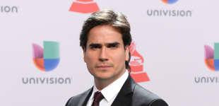 Actor Daniel Arenas en los Latin Grammy 2014