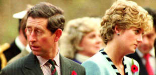 """Princess Diana: All Charles Knew About Love Was """"Shaking Hands""""."""
