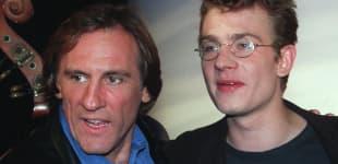 Gérard Depardieu y Guillaume Depardieu en 1997