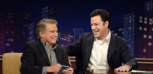 Jimmy Kimmel's Sweet Tribute To Regis Philbin.