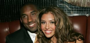 Kobe Bryant and wife Vanessa at the official after party for the 2004 World Music Awards, September 15, 2005.