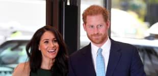 Prince Harry And Meghan Markle Make Appearance At Spotify Event