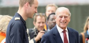 Prince William Gives Update On Prince Philip In First Engagement Of 2021