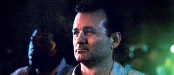 "Bill Murray as ""Peter Venkman"" in Ghostbusters."
