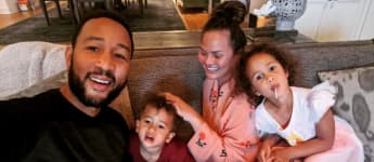 Chrissy Teigen and her family