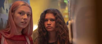 Hunter Schafer and Zendaya in 'Euphoria'