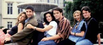 Elenco de la serie 'Friends'