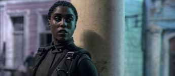 Lashana Lynch en una escena de la película '007: Sin tiempo para morir'