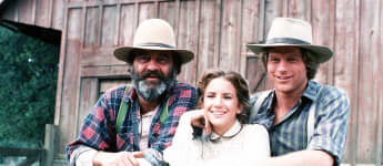 """Victor French, Melissa Gilbert, and Dean Butler portrayed real characters in """"Little House on the Prairie"""""""