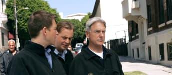 Michael Weatherly, Sean Murray y Mark Harmon