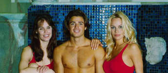 Pamela Anderson, Daniel Charvet and Alexandra Paul from 'Baywatch'