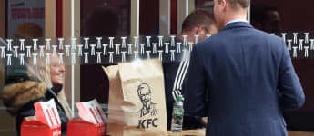Prince William KFC Pictures: The Restaurant Responds 2020 Twitter Duchess Kate photos