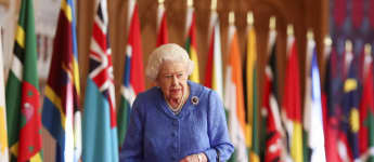 Queen Elizabeth II at Windsor Castle on Commonwealth Day 2021 speech message watch video royal family news