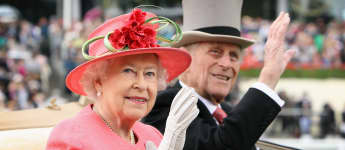 Queen Posts Throwback Picture With Prince Philip Still In Hospital