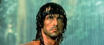 "Sylvester Stallone as ""Rambo"""